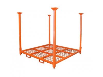 60'' x 60''  Tire Stacking Racks with Forklift channel