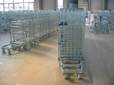 European Laundry Roll Cage
