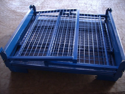 BMW Auto Industry Wire Mesh Container